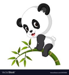 Ckren uploaded this image to 'Animales/Osos Panda'. See the album on Photobucket. Panda Themed Party, Cute Panda Cartoon, Cute Panda Wallpaper, Panda Images, Cute Funny Babies, Cross Stitch Cushion, Panda Wallpapers, Kids Room Paint, Drawings Of Friends