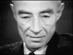 """""""Now, I am become Death, the destroyer of worlds """" - Robert Oppenheimer J Robert Oppenheimer, Hiroshima Bombing, Enola Gay, Religion, Death Quotes, World Quotes, Destroyer Of Worlds, Pin On, Bhagavad Gita"""