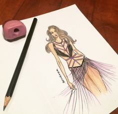 Unique design for a unique dancer   #fashion #art #fashiondesigner #fashionillustration #costume #bellydance #salsa #fusion #costumedesigner #highfashion #personaldesigner