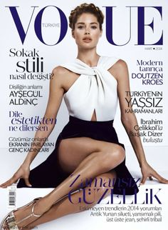 Doutzen Kroes for Vogue Turkey March 2014