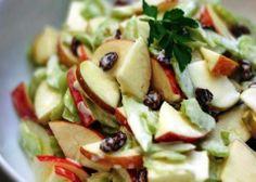 Mele rosse con insalata - La ricetta di Buonissimo