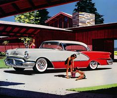 1956 Oldsmobile   1956 Oldsmobile 98 Deluxe Holiday Coupe   Full text   Recently added ...
