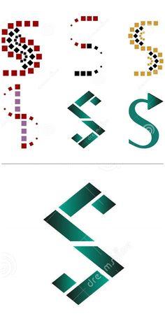 Set of different S symbols by Tilena on dreamstime S Letter Logo, Letter Symbols, Graphic Design Illustration, Initials, Logo Design, Lettering, Logo Branding, Icons, Illustrations