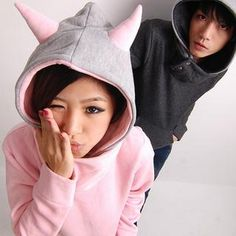 Buy 'RINA – Horn-Accent Hooded Pullover' at YesStyle.com plus more China items and get Free International Shipping on qualifying orders.