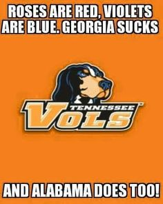 Sorry to anyone that is a Alabama fan or a Georgia fan.  But it is kind of true.