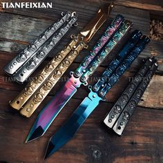 Knife Aesthetic, Aesthetic Eyes, Pretty Knives, Cool Knives, Collector Knives, Butterfly Knife, Girly M, Austrian Empire, Types Of Knives