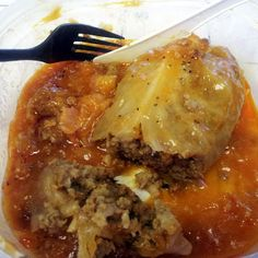 Stuffed Cabbage (I need some carb free recipes, hope it's good)
