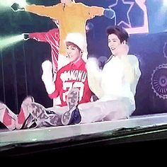 Once again, the two oldest everyone! Xiumin and Luhan :') #exo #minseok