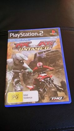 MX vs ATV untamed ps2 game - PlayStation 2 - FREE Fast Postage Aussie Seller