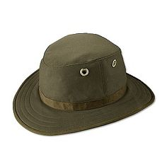 ea033006dc9 Tilley Hats TWC7 Waxed Cotton Hat - Olive