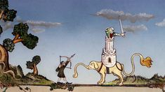 Monty Python Fans, It's Your Holy Grail: 14 Minutes Of Lost Terry Gilliam Animation | Co.Create | creativity + culture + commerce