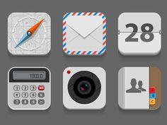 Flat Icons by Iaroslav Lazunov