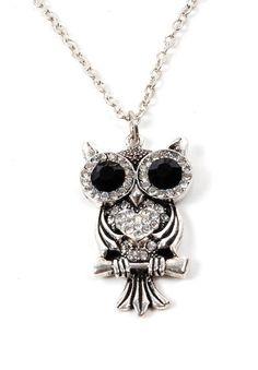 owl necklace by Lenaperez
