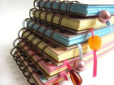 Cute notebooks-another must for pursuing writer. u never know when u might find inspiration.