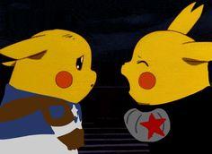 Pikachus in Cap America: The Winter Soldier