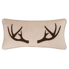 Sleepy Forest Brown Cotton Blend Throw Pillow - Free Shipping Today - Overstock.com - 22398271