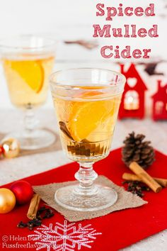 Mulled Cider - a delicious, and frugal alternative to mulled wine to serve at winter parties