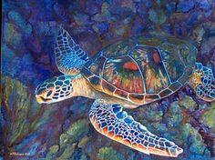sea turtle oil paintings - Bing Images