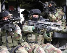 Irish Army Ranger Wing on a training exercise mid-2000s. Its difficult to find good photos outside of official press releases.