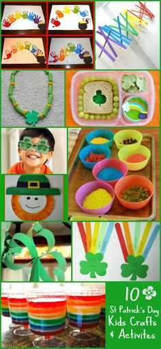St Patricks Day Craft & Activities for Kids