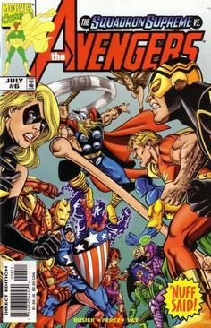 Marvel Comics - Superhero - Nuff Said - Ironman - Thor - George Perez