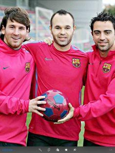 Messi - Iniesta - Xavi