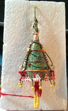 Dept 56 christmas krinkles dancing tree lady magnet by patience brewster