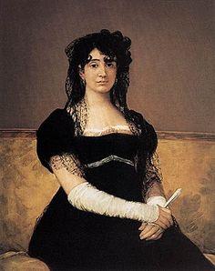 Francisco Goya (Spanish [Romanticism] Antonia Zárate, National Gallery of Ireland, Dublin, Ireland. Francisco Goya, Spanish Painters, Spanish Artists, Art Espagnole, National Gallery, Art Plastique, Art History, Cool Art, Portraits