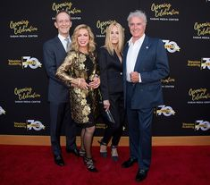 Ted Shackelford, Donna Mills, Joan Van Ark and Kevin Dobson arrives to the Television Academy's 70th Anniversary Gala on June 2, 2016 in Los Angeles, California