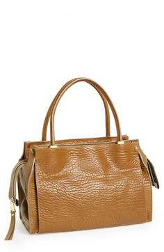 6a9dc1e3e6f9 Chloé  Medium Dree  Pebbled Leather Satchel available at  Nordstrom Pebbled  Leather