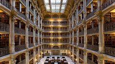 George Peabody Library, Baltimore, Maryland, Estados Unidos