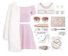 """Scream Queens"" by franchesca-29 ❤ liked on Polyvore featuring moda, AX Paris, MANGO, Chanel, Tiffany & Co., Eloquii, Le Silla, Too Faced Cosmetics, Maybelline i Newgate"
