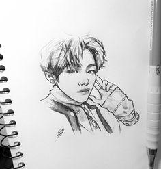 Jimothy 💁♀️ I am posting not at this can't be real Jimin Fanart, Kpop Fanart, Taehyung Fanart, Bts Taehyung, Kpop Drawings, Art Drawings Sketches, Pencil Drawings, Fan Art, Art Du Croquis