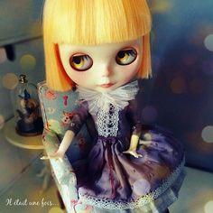 star dress light purple for Clara
