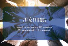 ¡@ZTE_es sortea 20 móviles en #FB! Cuantos más amigos consigamos más oportunidades de ganar tendremos ¿Me ayudáis?