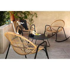 Fauteuil de jardin en métal Cuba - CASTORAMA | Jardin | Pinterest ...