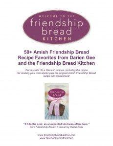 50 Amish Friendship Bread Recipes