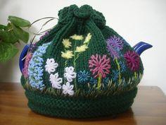 ❄Knit Tea Cosies, Mug Hug Snugs and Cuppa Cosies. : Anyone for tea?