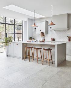 WANDSWORTH — Blakes London Kitchen Room Design, Modern Kitchen Design, Home Decor Kitchen, New Kitchen, Home Kitchens, Kitchen Furniture, Modern French Kitchen, Open Kitchen Interior, Open Plan Kitchen Dining Living