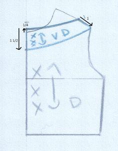 Dress Patterns, Sewing Patterns, Dart Shirts, Sewing Collars, Bodice Pattern, Dress Shapes, Pattern Drafting, Pattern Making, Sewing Hacks