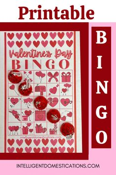 You will love playing Valentine's Bingo with this cute free printable set. You get 12 different cards plus 2 call out sheets. Play this Valentine's Bingo game at home, school or wherever you like. Fun for homeschool too. #bingo #valentinesbingo #valentinesgame Valentine Bingo, Valentines Day Party, Valentine Day Crafts, Bingo Games Free, Valentine's Cards For Kids, Valentine's Day Printables, Bingo Cards, Holidays And Events, Christmas Diy