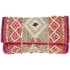 SALDARINI Clutch ($69) ❤ liked on Polyvore