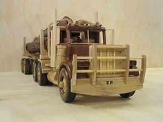 heavy vehicle wooden models