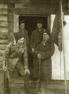 Red Partisans in Irkutsk, undated.