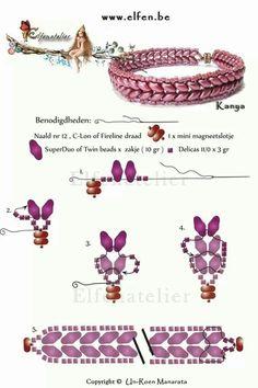Best Seed Bead Jewelry  2017   Twin beads bracelet   Seed Bead Tutorials