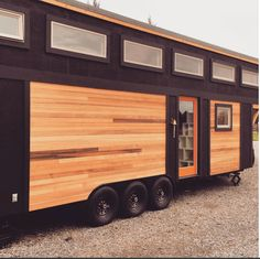 Trailer: The Townsend is over 350sf of living space. Built in 2016 on a brand new, Iron Eagle tiny-house-specific 8.5′ x 20′ trailer. Exterior: 2×4 frame, standing seam metal roof, clear cedar + plywood siding. Exterior outlets, storage + lighting. Insulation: Fiberglass insulation. Windows: Vinyl thermal pane windows. Three large sash windows, six awning windows, transom + single…