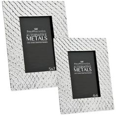 Philip Whitney Alternative Metals Mesh Aluminum Frame - BedBathandBeyond.com 8 x 10 verticle