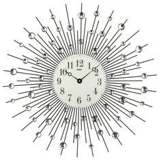 Nástenné hodiny 9380 AMS 60cm, nastenne hodiny, na stenu, dekoracie do bytu, dizajn