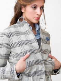 ANìSSEJ LIFE   Wool jacket for first cold fall..