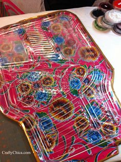 DIY Fabric & Vinyl Car Mats | CraftyChica.com | Sparkly, artful inspirations by artist and author, Kathy Cano-Murillo.